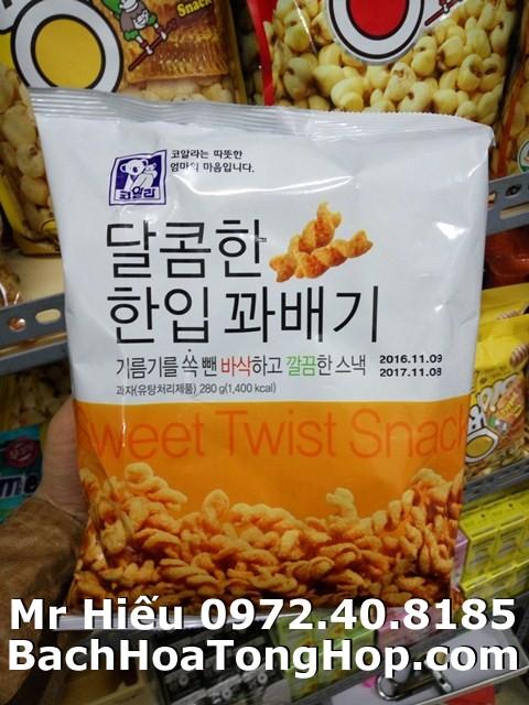 Quẩy xoắn Hàn Quốc 280g
