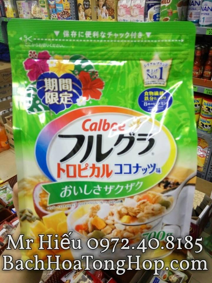 Ngũ cốc Calbee 700g Nhật