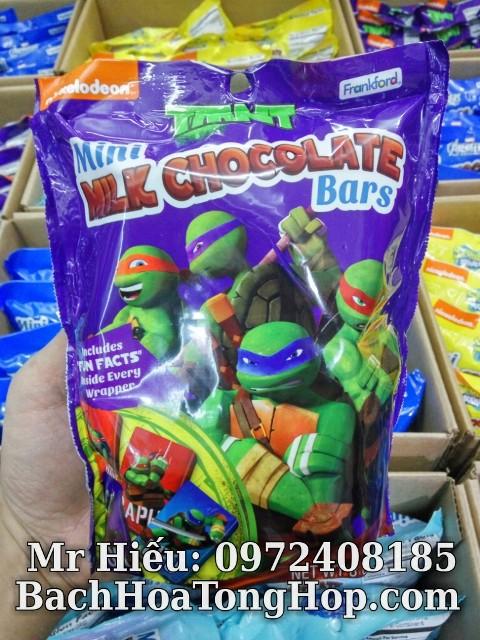 Socola Ninja Turtles 227g
