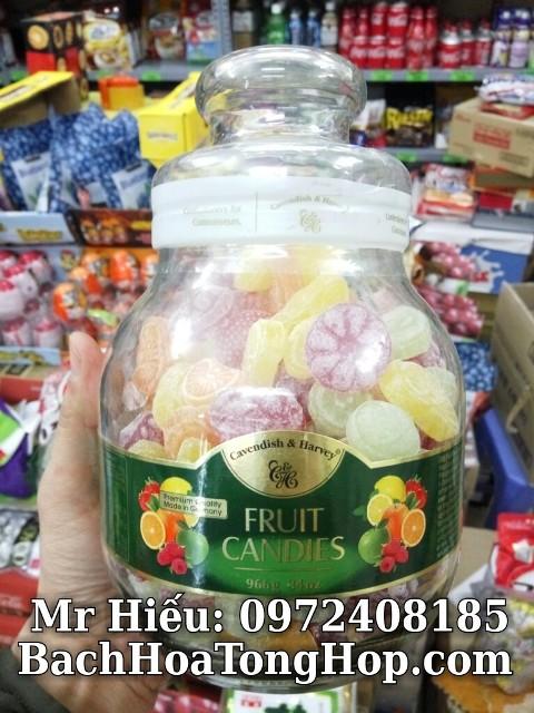 Kẹo hoa quả Đức 966g