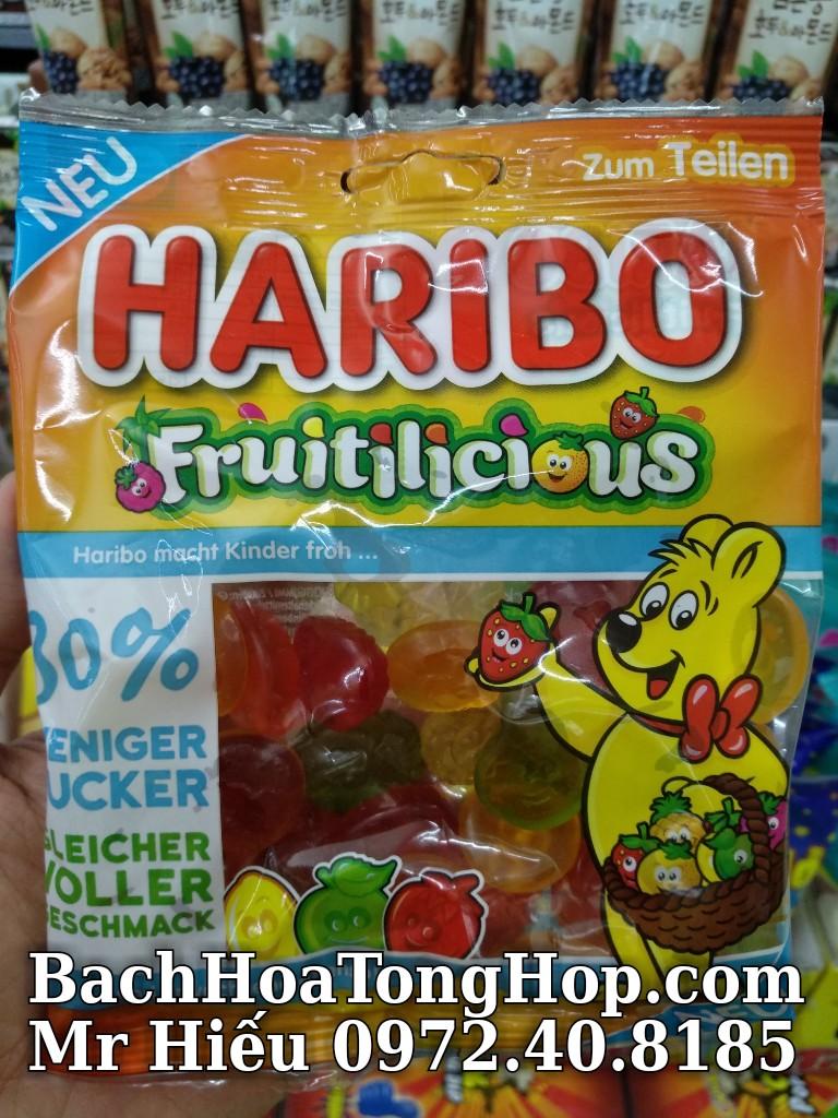 Kẹo dẻo Haribo Fruit 160g