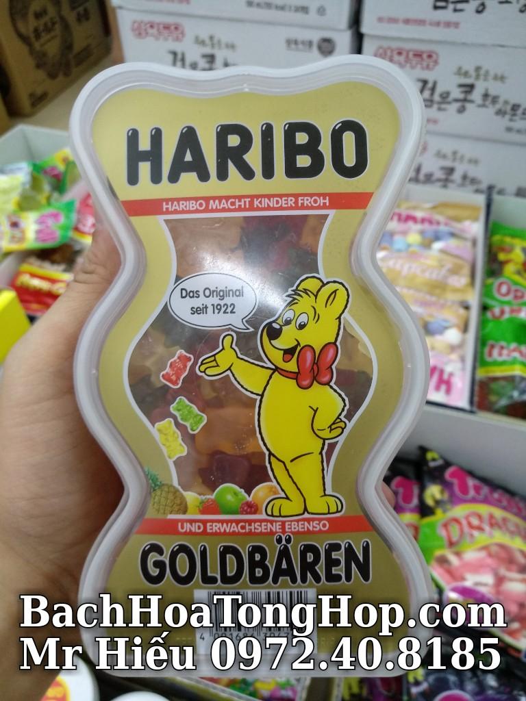Kẹo Haribo Goldbaren hộp 450g