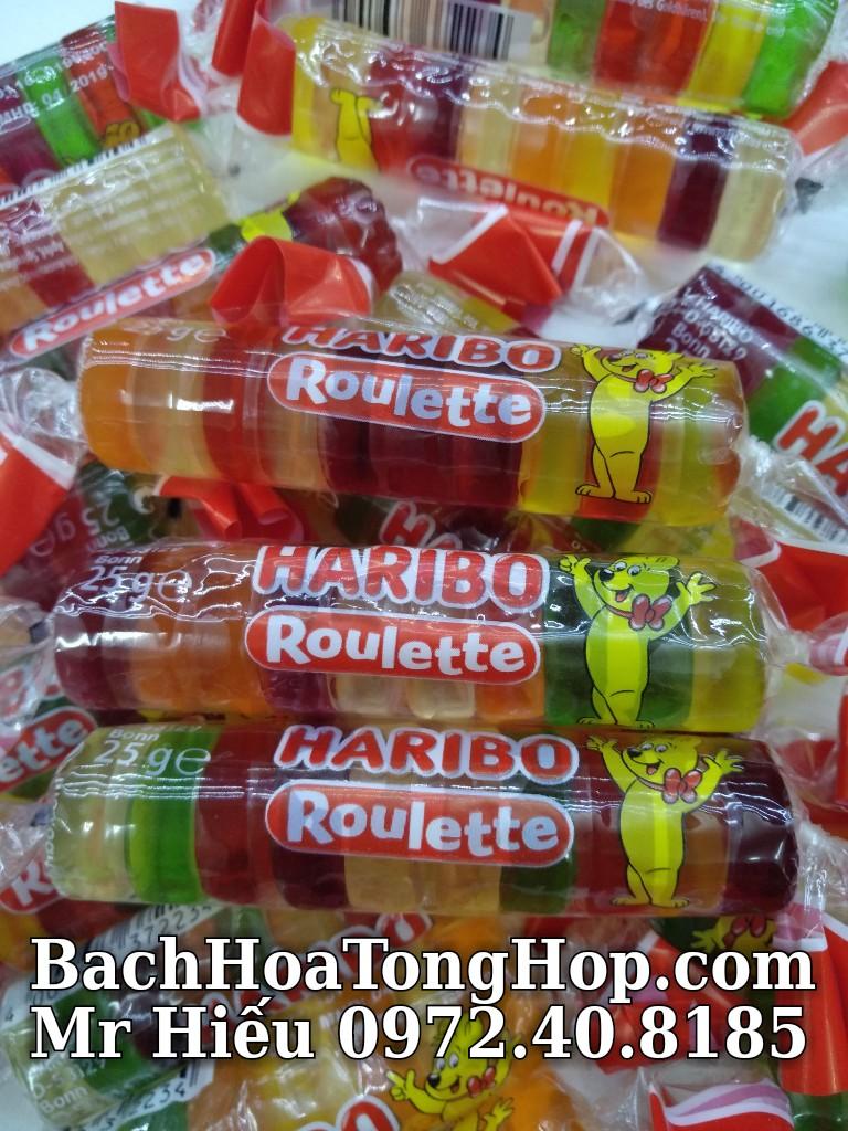 Kẹo dẻo Haribo Roulette 25g