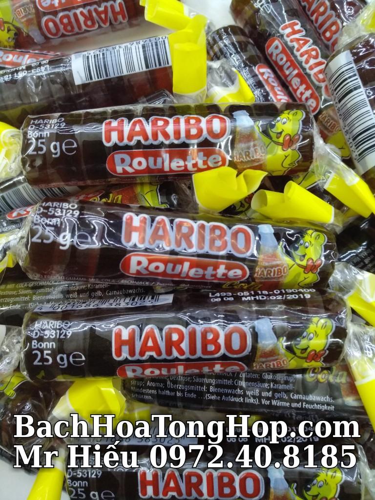 Kẹo dẻo Haribo Roulette Cola