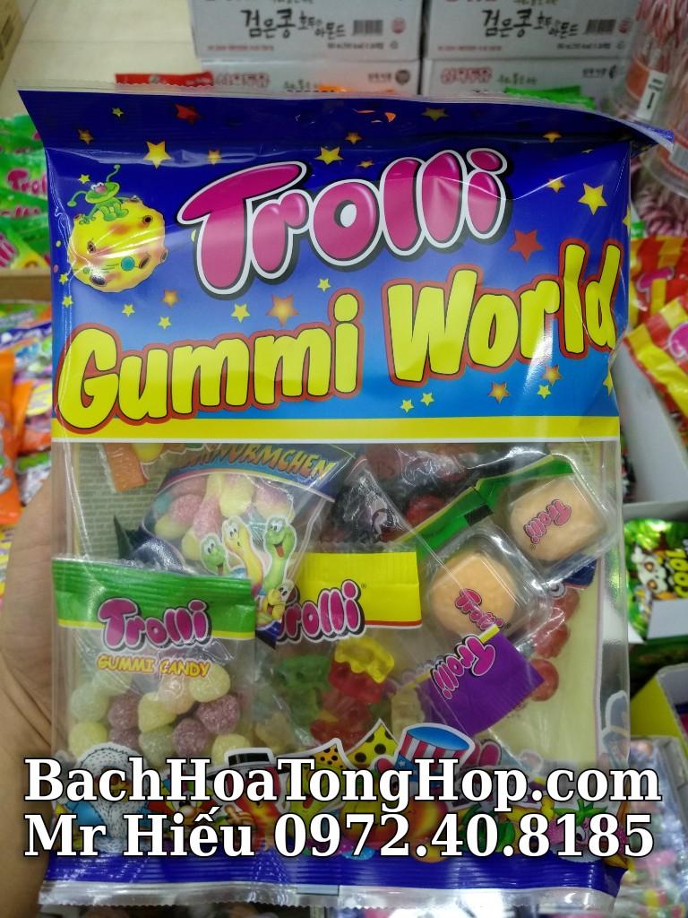 Kẹo dẻo Trolli Gummi World