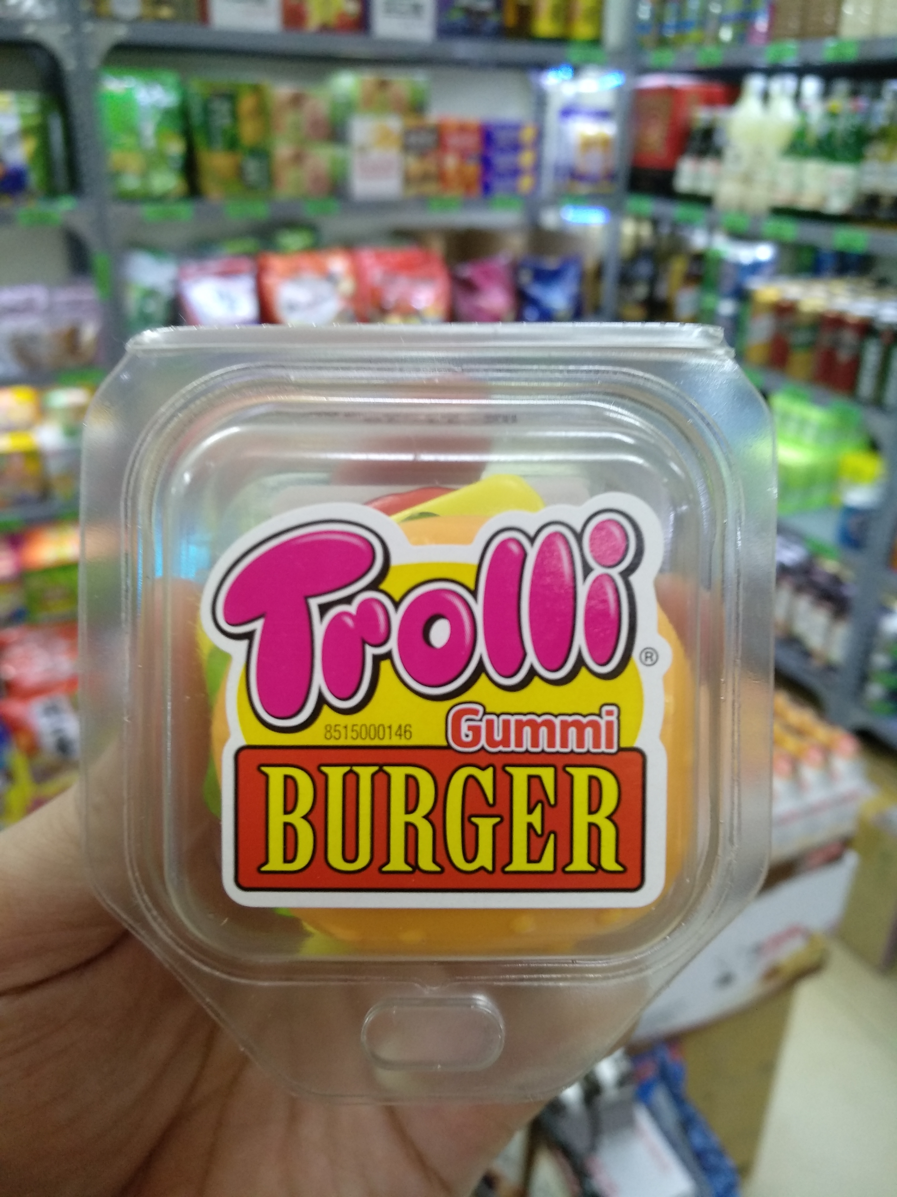 Kẹo dẻo Trolli Burger 50g