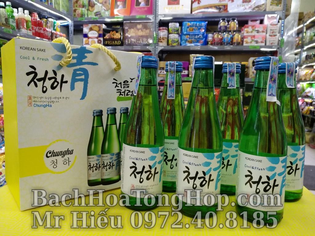 Hộp quà 6 chai Sake ChungHa