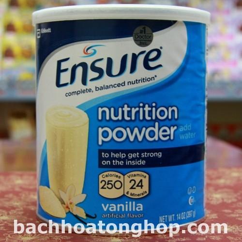 Sữa bột Ensure 397g