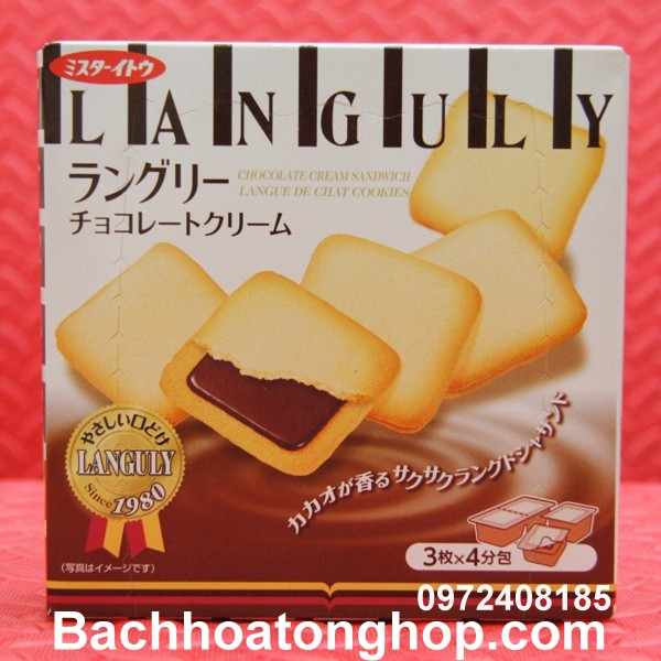 Bánh socola Languly