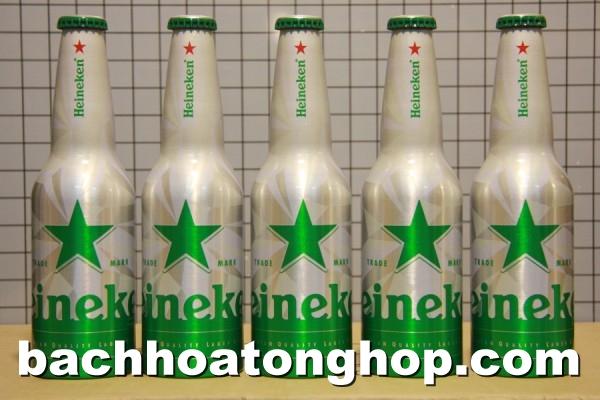 Bia Heineken chai nhôm STR (Hà Lan)