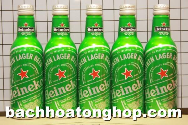 Bia Heineken chai nhôm