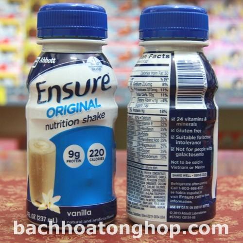 Sữa nước Ensure (Mỹ