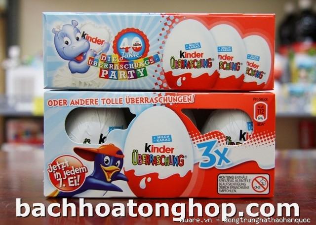 Socola trứng Kinder (Đức)