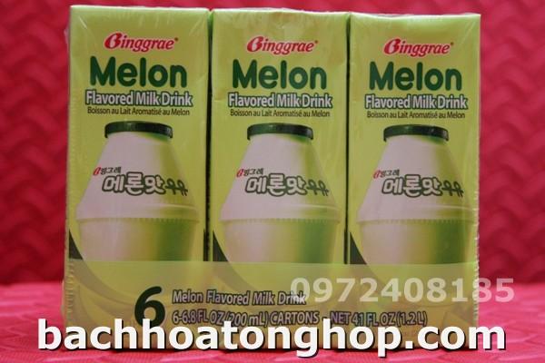Sữa dưa gang Hàn Quô